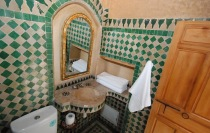 Photo of Dar Jnane, Bathroom, Fes, Morocco