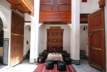 Photo of Dar Jnane, Courtyard, Fes, Morocco