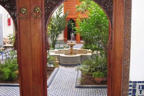 Photo of Riyad Louna Courtyard, Fes, Morocco