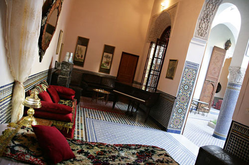 Interior Photo of Riyad Louna, Fes, Morocco